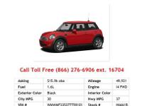 2007 Mini CooperS Base 2dr Hatchback Hatchback White I4