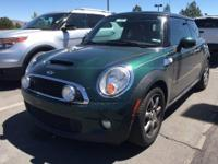 Come see this 2007 MINI Cooper Hardtop S. Its Automatic