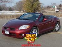 **CONVERTIBLE** **LOW MILES** **6 CD CHANGER** **ALLOY