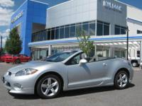 LOW MILES ! 2007 Mitsubishi Eclipse Spyder Convertible