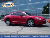 Check out this 2007 Mitsubishi Eclipse GT. Its