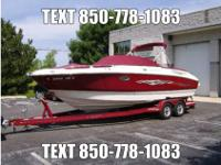 2007 Monterey 248LS, extremely low hours, super clean,