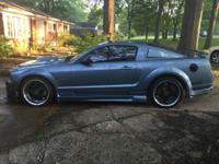 2007 mustang gt with 96788 miles on it.  In great
