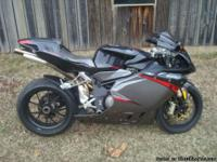 2007 MV Agusta F4R F4 1000 R with only 4851 miles (may