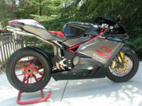 2007 MV AUGUSTA F4 1000 SENNA LIMITED ADDITION 111 FROM