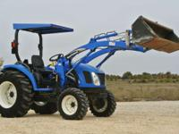 2007 New Holland Agriculture Boomer Compact - TC35A FWD