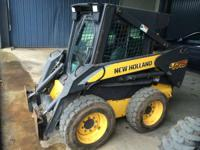 2007 New Holland Agriculture L175 Cab-Heat-A/C