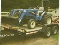 2007 NEW HOLLAND TRACTOR $18,500 OBO. 30 Horse Power.