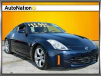 safety certified nissan 350z with full power, leather,