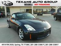 ***2007 NISSAN 350Z CONVERTIBLE TOURING 6 SPEED MANUAL