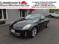 This 2007 Nissan 350Z is a rare car! It has only had