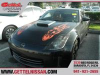 Options:  2007 Nissan 350Z Touring|Black|3.5L