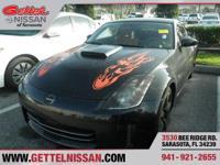 Options:  2007 Nissan 350Z Touring|Black|3.5L