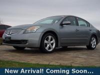 2007 Nissan Altima 3.5 SE in Precision Gray Metallic,