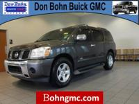 CARFAX 1 Owner 2007 NISSAN ARMADA 2WD 4DR LE FFV with