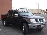 2007 NISSAN FRONTIER SE. AUTOMATIC. POWER STEERING.