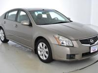 Clean CARFAX. This 2007 Nissan Maxima 3.5 SL in