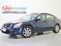 2007 Nissan Maxima  CARFAX One-Owner. Clean CARFAX.