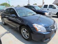 2007 Nissan Maxima 3.5 SL VIN: 1N4BA41EX7C834444 Miles: