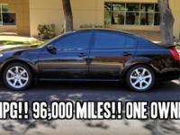 2007 Nissan Maxima 4dr Sdn V6 CVT 3.5 SE !! V6 3.5 L
