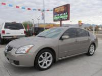 2007 Nissan Maxima 3.5 SE with only 77,000 miles. This