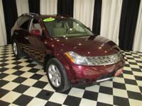 This 2007 Nissan Murano AWD SUV features a 3.5L V6