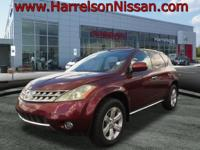 This 2007 Nissan Murano SL is priced to offer. A lots