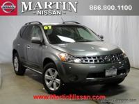 This 2007 Nissan Murano SL is proudly offered by Martin