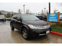 Options:  2007 Nissan Murano S Awd|Premium Alloys! All