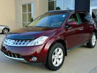 This 2007 Nissan Murano SL is offered to you for sale
