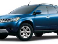 Safe and reliable, this 2007 Nissan Murano SL