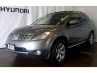 This Nissan Murano has a V6, 3.5L high output engine.