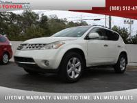 2007 Nissan Murano SL V6, *** 1 FLORIDA OWNER *** CLEAN