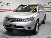 2007 Nissan Murano S AWD Brilliant Silver on Grey