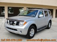 Options Included: N/A2007 NISSAN PATHFINDER SE, CLEAN