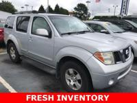 2007 Nissan Pathfinder SE This vehicle is being sold