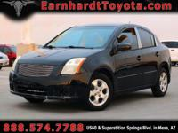 We are happy to offer you this 2007 Nissan Sentra which