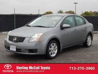 Sterling McCall Toyota presents this 2007 Nissan SENTRA