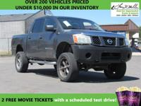 This 2007 Nissan Titan will sell fast -4X4 4WD ABS