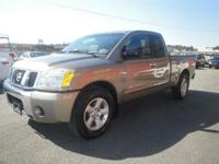 2007 NISSAN TITAN IN GREAT CONDITION WITH EXTENDED CAB,