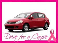 Treat yourself to this 2007 Nissan Versa 5DR HB I4