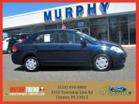 This outstanding example of a 2007 Nissan Versa 4dr Sdn