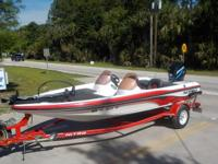 UP FOR SALE IS A NICE 2007 NITRO 750 DUAL CONSOLE BASS