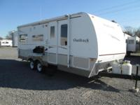 2007 Wilderness by Keystone model 23RS. This camper is