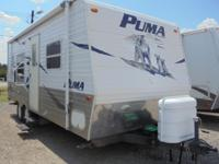 For sale is a nice 20 foot 2007 Palomino Puma! It
