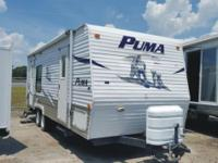 The pre-enjoyed 2007 Palomino Puma Travel Trailer Model