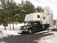 Used only one weekend, a luxury, large truck camper