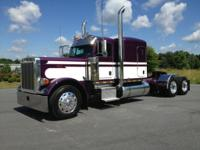 2007 Peterbilt 379 sleeper tractor 270 inch wheelbase