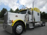 2007 Peterbilt 379EX Long Hood 475 Cat 18SPD 70""