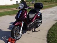 Specifications IDENTIFICATION Type: Touring Scooter